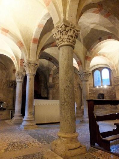 La cripta di San Michele