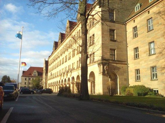 Il Palazzo di Giustizia di Norimberga