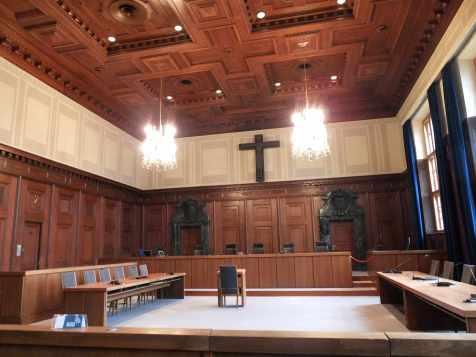 Aula 600, Memoriale del Processo di Norimberga