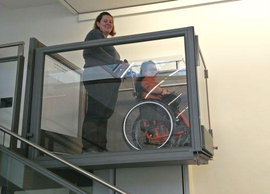 montacarichi disabili
