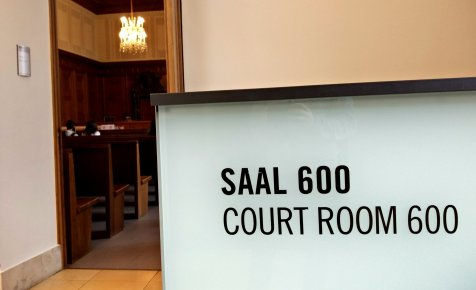 Aula 600 del Palazzo di Giustizia di Norimberga