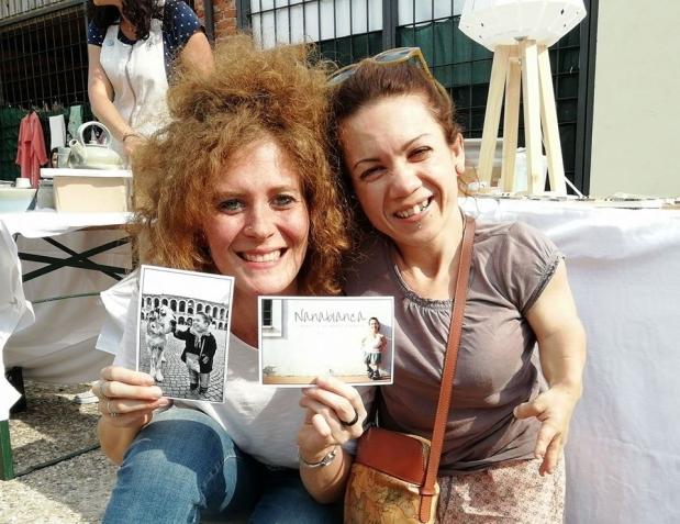 La consegna delle mie NanabianCARDS a Chiara Patuzzi