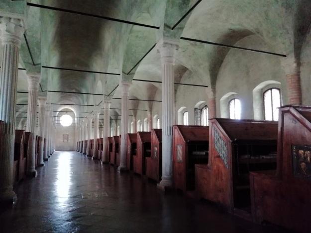 Biblioteca Malatestiana di Cesena, interno