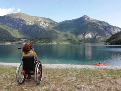 Nanabianca al Lago di Ledro