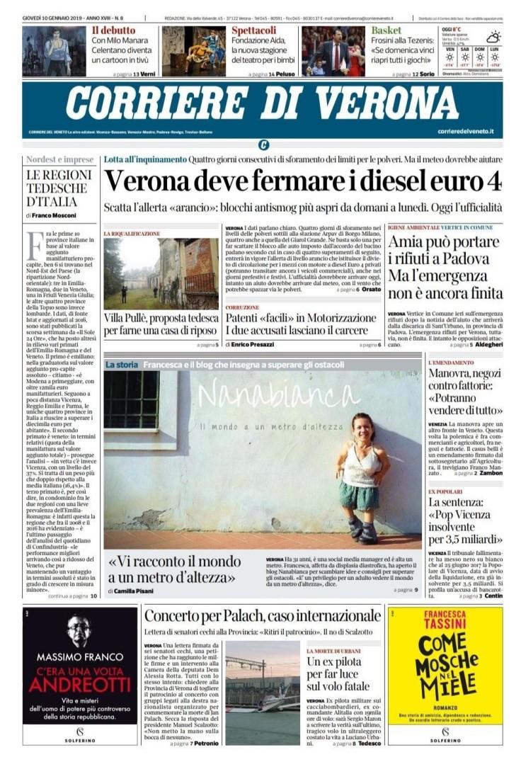 Nanabianca_Corriere di Verona