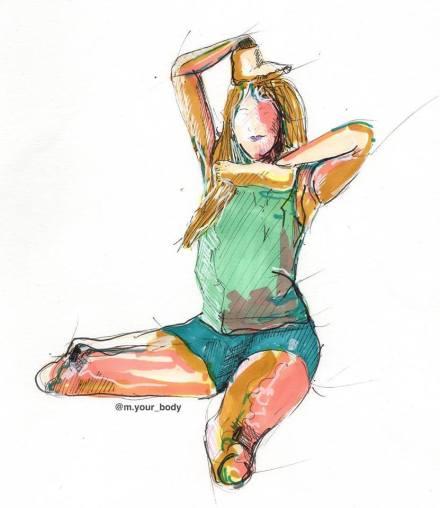 Disegno di M Your Body