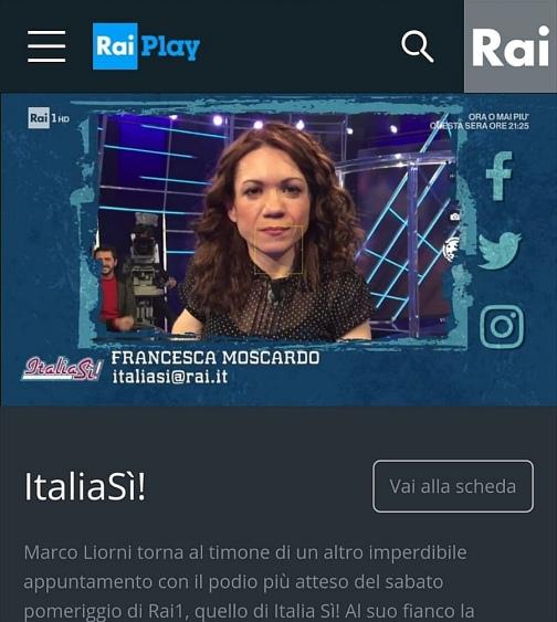 Nanabianca a Italia Sì