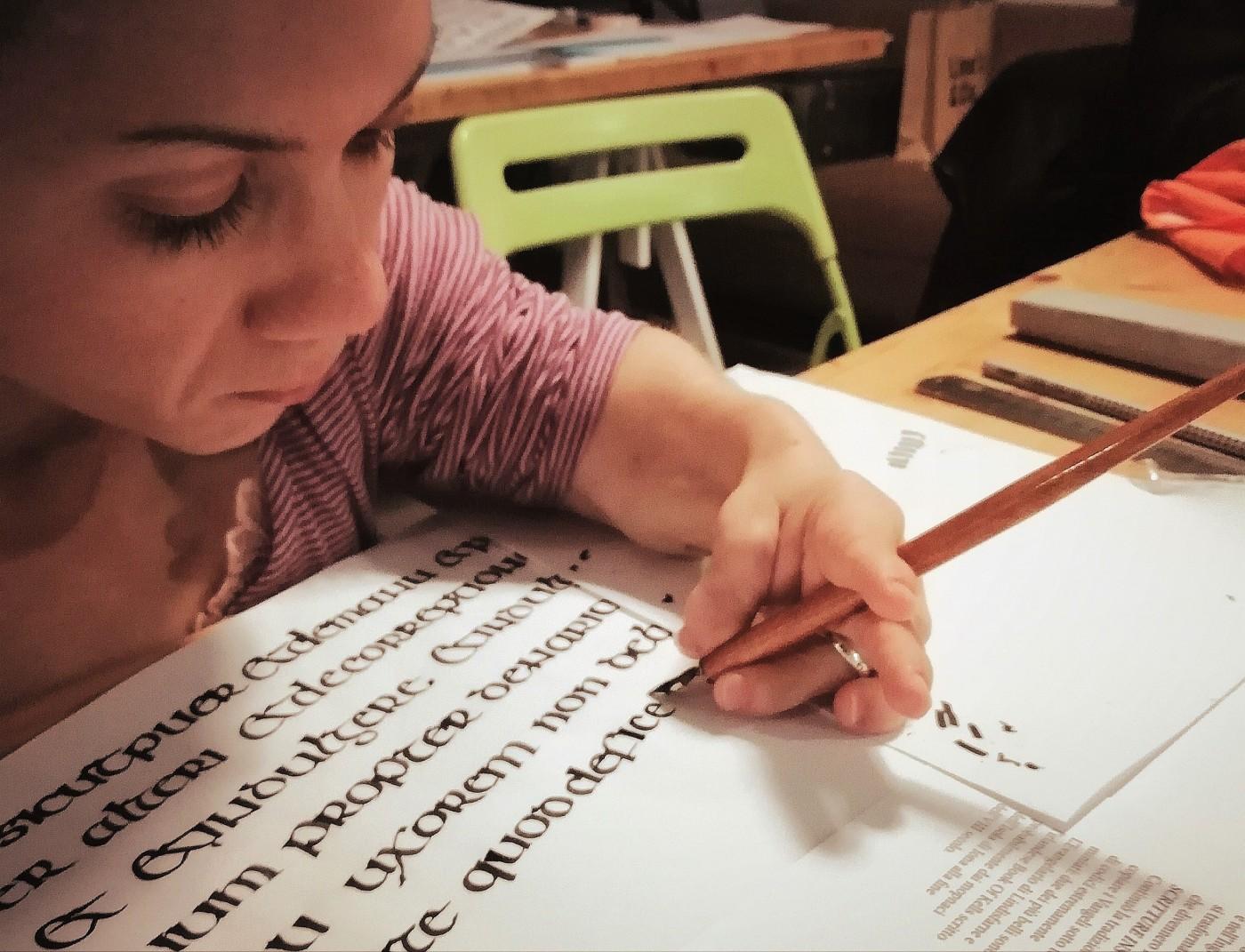 Nanabianca che scrive