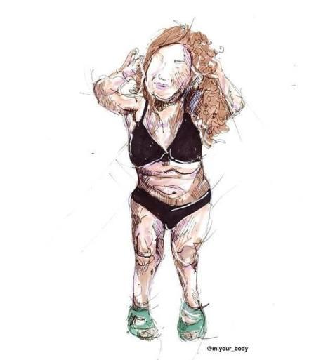 Nanabianca nel ritratto di M Your Body