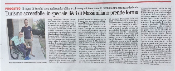 GardaWeek, b&b accessibile di Massimiliano Bertoldi