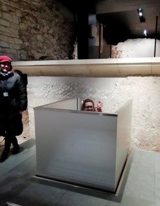 Montacarichi del Capitolium di Brescia