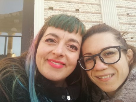 Nanabianca e Samantha Schloss