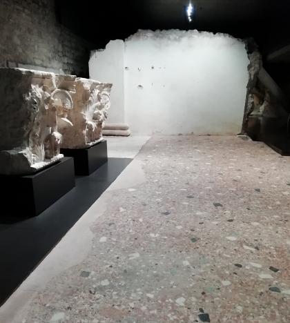 Il pavimento del Santuario repubblicano del Capitolium di Brescia