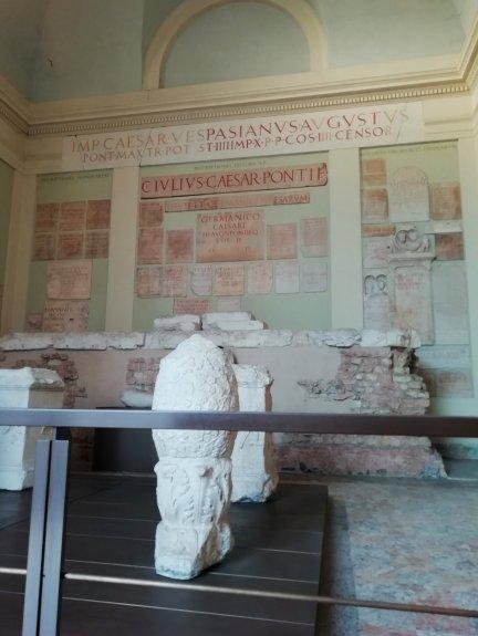 La cella centrale del Capitolium di Brescia