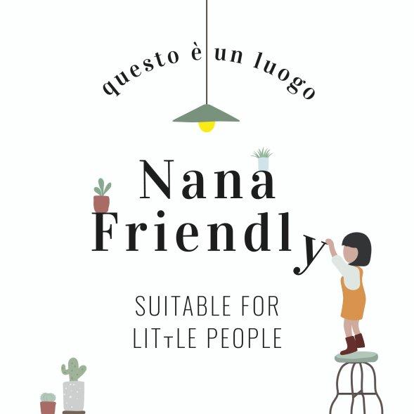 Il logo Nana Friendly