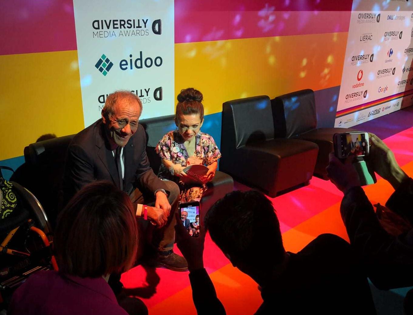 Diversity Media Awards: Nanabianca intervista Roberto Vecchioni
