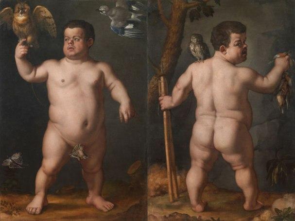 Doppio ritratto del Nano Morgante, Palazzo Pitti, Firenze