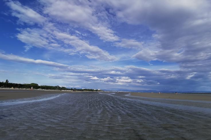 La battigia della spiaggia di Grado