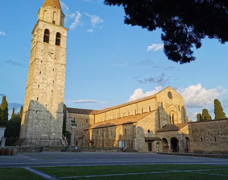 Veduta della Basilica Patriarcale di Aquileia